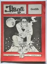 HAGA N°43 Spécial GOTLIB Automne 80