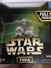 """VINTAGE STAR WARS YODA ACTION COLLECTION NEW IN BOX 6"""" FIGURE"""