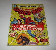 Vintage L'étonnant Spider-man 1980 French comic Book Heritage All color FREE SH