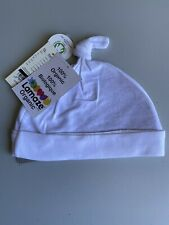 Lamaze Infant Knot Beanie Cap in White One Size