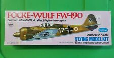 Focke-Wulf FW 190 Flying Model Kit Guillow's New