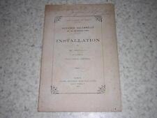 1884.installation Sadoul procureur général Nancy.envoi autographe