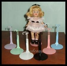 "6 Kaiser RAINBOW Miniature Doll Stands for 5.5"" MINI GINNY U.S. Ships Free"