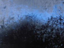 Prestigioso RITZ Medianoche triturada con el respaldo de terciopelo azul Cortina De Tela De Tapicería