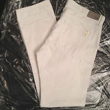 SIMON SPURR MENS WHITE PIPE LEG SKINNY JEANS SIZE 36