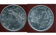 BRESIL  2 centavos 1975  ( soja )