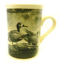 Field Stream Mug Widgeon Duck Black White Waterfowl Hunting Lodge Cup DesignPac