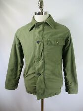 E8536 VTG 1950s US ARMY Cold Weather Deck Military Jacket