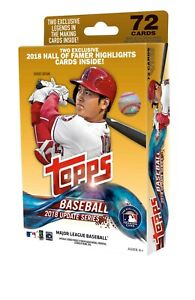 2018 Topps Update Series Baseball Hanger Box Factory Sealed Unopened (Qty)