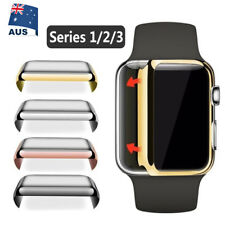 Apple Watch 38/42mm Full Body Case Cover & Built-in Glass Screen Protector