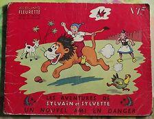 EO Les Aventures de Sylvain et Sylvette N°13 : Un nouvel ami en danger 1955