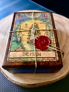 SAMIRAMAY TAROT Limited Edition ONLY 100 COPIES, in wooden box - No Baba Studio