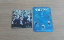 2 x Different Guinness Beermats