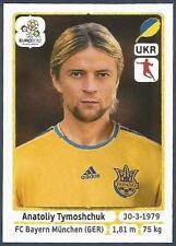 PANINI EURO 2012- #412-UKRAJINA-UKRAINE-BAYERN MUNICH-ANATOLIY TYMOSHCHUK