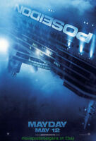 POSEIDON MOVIE POSTER DS 27x40 Advance Style 2006 Kurt Russell Richard Dreyfuss