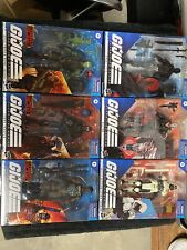 G.I. JOE Classified Series LOT OF 6 BEACH HEAD BLUE EYES COBRA TROOPER TARGET +