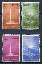 38171) INDONESIA 1962 MNH** National monument 4v