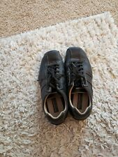 New listing Sketchers driving Shoes, Black Athletic Sneaker Sz:9.5 SN 60488