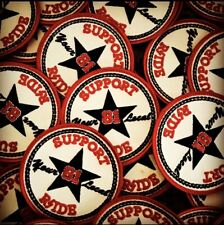 """Hells/Hell's Angels -RSIDE- """"ALL STAR"""" Support Patches"""