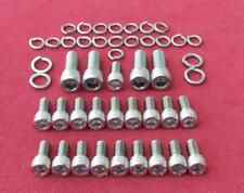 FORD 429 - 460 big block, oil pan ( sump ) stainless steel cap head bolts