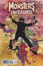 MONSTERS UNLEASHED! (2017) #3 New Bagged