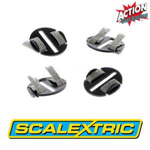 Scalextric Sport C8329 Quick-Fit Pickup Plates With Braids x 4