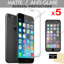 5 Pack of ANTI-GLARE MATTE Screen Protector Guards for Apple iPhone 6, iPhone 6s