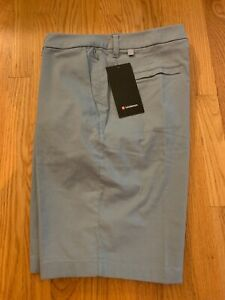 """Lululemon NWT Commission Short Relaxed-Fit 11"""" size 32,33,34,36 Chambray White"""