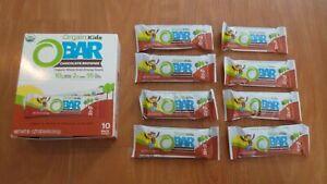 (18) Orgain Kids O Bars Chocolate Brownie 1.27 Oz Each Energy USDA Organic #7