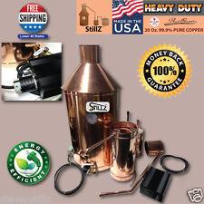 StillZ 20 Gallon Electric Moonshine Still Copper Still 20 oz.Copper 220VAC 20amp