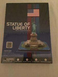 Statue of Liberty 3D Jigsaw Puzzle CubicFun 39 Pieces USA New York Adult Kids