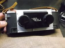 Stereo Realist Camera f3.5 Hyperfocal Film 1950's with strap 35mm stereoscopic