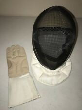 Absolute Fencing Mask 11001 Standard 3W Size M with Af Gloves