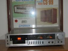Mitsubishi Model Dt-640 Rare vintage cassette deck.