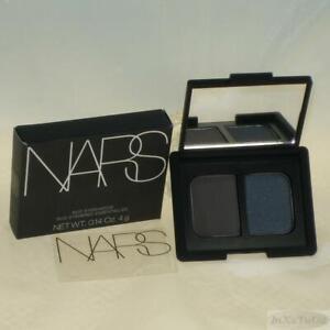 NARS Eyeshadow Duo Brumes Boxed (matte charcoal gray / satin blue slate)