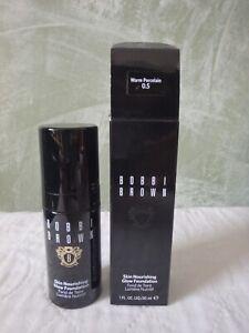 BOBBI BROWN Skin Nourishing Glow Foundation - Warm Porcelain 0.5 11floz / 30ml