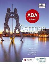 NEW AQA A-Level German (Includes AS) by Helen Kent, Amy Bates