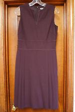 NWT Ann Taylor Brown Sleeveless Dress Size 4