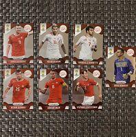 Switzerland 2014 World Cup Panini Przim Team Set Lot Of 7 Cards Soccer Behrami