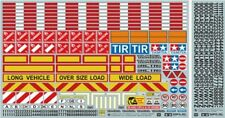 Tamiya 1/14 Sticker Set for R/C Truck & Trailer # 56534