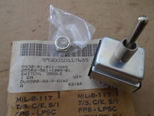 1 EA NOS L-3 COMM. TOGGLE SWITCH W/ VARIOUS APPLICATIONS  P/N: 561-1009-01