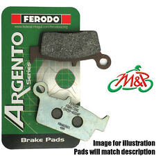 Kymco Mongoose 90 2007 Ferodo Organic Rear Disc Brake Pads