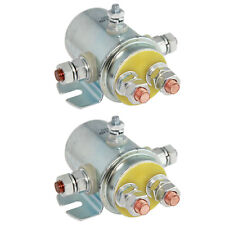 2 SWITCH RELAY SOLENOID 12V 5-TERMINAL CONTINUOUS DUTY For GOLF CART SBD4201E