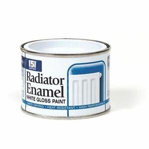 Radiator Enamel White Paint Hard Drying Heat Resistant 151 Coatings 180ml