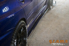 Mitsubishi Lancer Evo CARBON FIBRE Side Steps, Side Skirt Extensions v6