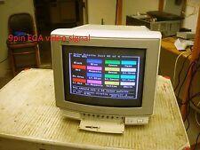 SONY GVM-1311Q MONITOR CGA, EGA, NTSC, ANALOG
