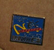 Vintage pin Mc Donalds Pins LA POSTE RARE A LA DECOUVERTE DE L'AMÉRIQUE
