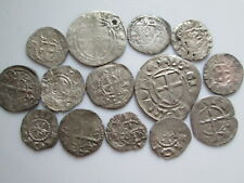 Teutonic order, Livonian branch medieval 14 silver coins
