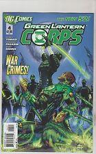 DC COMICS GREEN LANTERN CORPS #4 FEBRUARY 2012 NEW 52 1ST PRINT NM