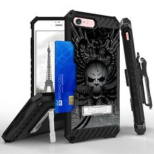 Beyond Cell Tri Shield Kombo For Apple Iphone 7 Wing Skull